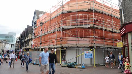 Changing face of Ipswich town centre