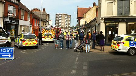 Scenes like this are becoming less common in Suffolk as the number of people killed or seriously inj
