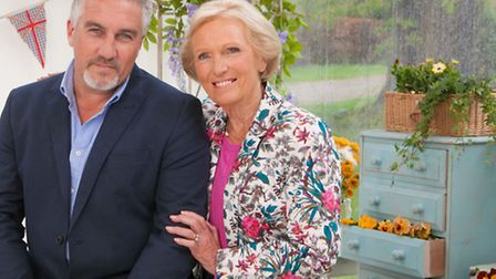 Paul Hollywood and Mary Berry, presenters of the Great British Bake Off. Betting has been suspended