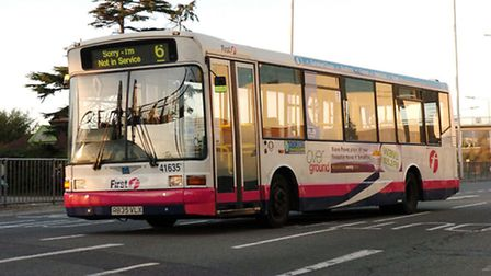 The 88A First Eastern Counties bus service no longer stops at Norwich Road bridge at 8.01am in term