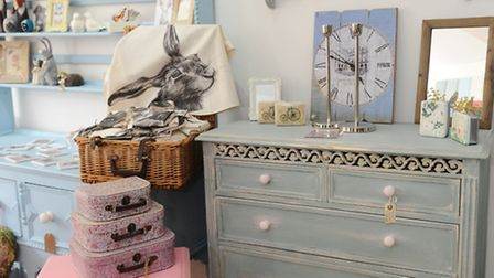 Skylar - Belle, upcycling and shabby chic store, Ipswich