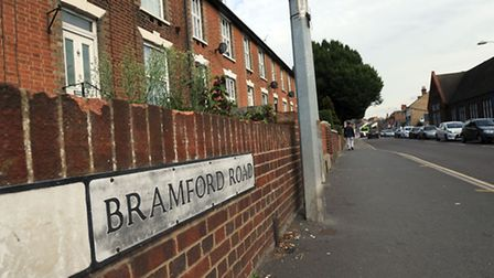 The incident happened on the junction between Bramford Road and Pitcairn Road