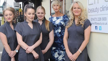 Rebranding of Carolyn Hammond to Lift Beauty Clinic, Ipswich. Owner Hayley Capey (right) pictured w