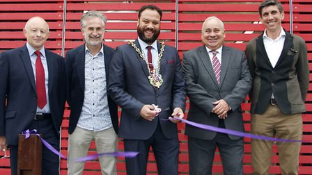 KLH Architects, office extenions opening by the Mayor of Ipswich. Robert Keeble, Martyn Goodwin,