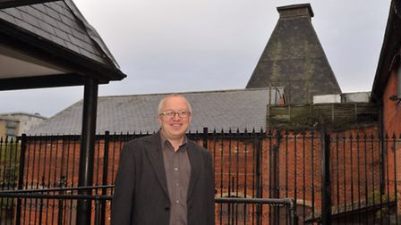 David Ellesmere outside the former Hollywood Club in Ipswich.