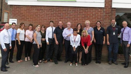 Some of the Monthind staff