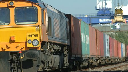 An earlier freight train delay caused congestion and cancellations to other services