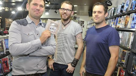 The band Scouting for Girls performed at the Ipswich HMV.