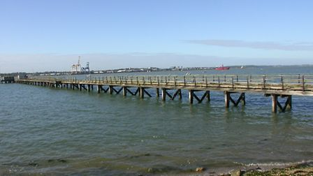 Bristol Pier, Shotley is for sale, by auction