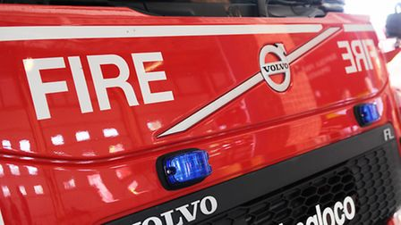 Firefighters were sent to Claydon