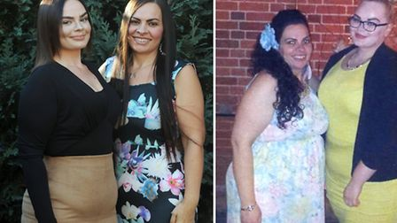 Georgia and Jodie Mutch have lost 8.5 stone between them after joining Slimming World. The sisters a