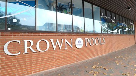 Crown Pools in Ipswich, where a man reportedly exposed himself on Saturday.