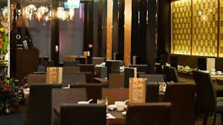 The interior of Orient London, launched by Ipswich chef-entrepreneur Patrick Cheung.