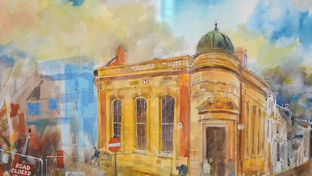Visions of Sudbury exhibition opens today at St Peter's Church, Market Hill, Sudbury. Images by Neil