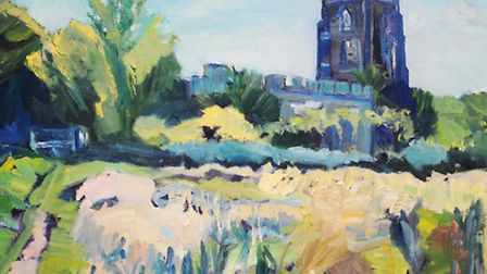 Visions of Sudbury exhibition opens today at St Peter's Church, Market Hill, Sudbury.