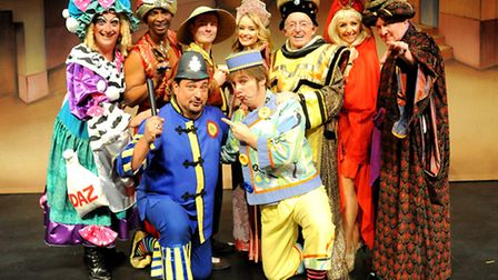 The launch of Aladdin at the Regent in Ipswich.