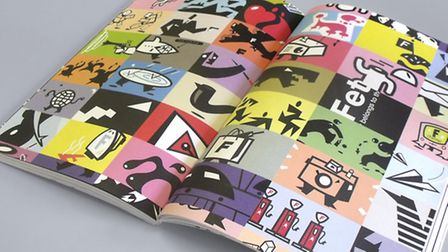 Russell Walker's new graphic design book