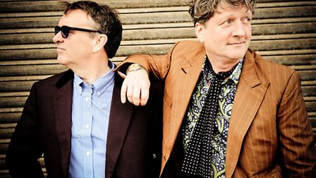 Chris Difford and Glenn Tillbrook of Squeeze. Photo: Danny Clifford
