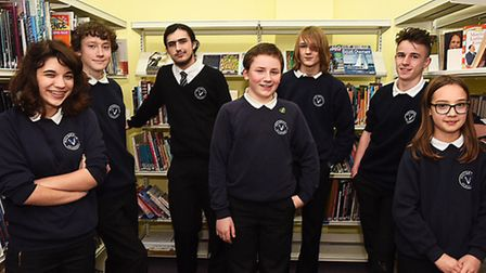 Holbrook Academy was invited by Mensa to test their 10 best students across the age range for member
