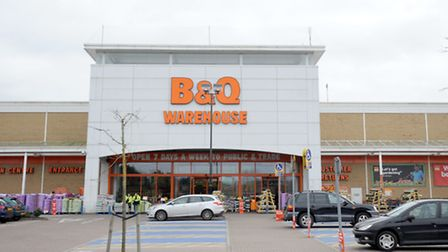 A man was reportedly selling watches in the B&Q car park at Ransomes Europark.