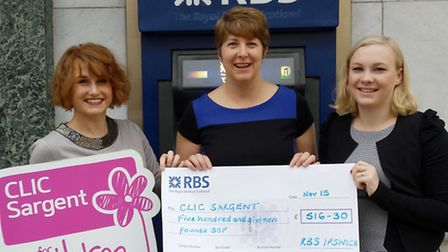 RBS fundraising for CLIC Sargent,