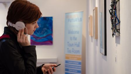 The first Pop My Mind exhibition at Ipswich Town Hall. Photos: Jamie Boswell