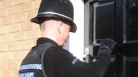 Police conducted a drugs warrant.