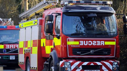 Essex fire crews were called to the explosion