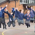 St Mary's Catholic Primary School which is top for Key Stage 2 results in Suffolk.