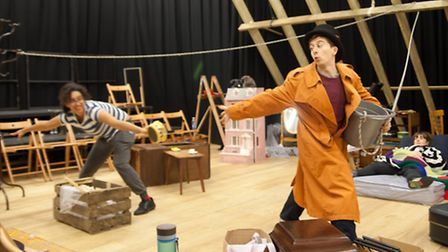 Rehearsals for The Tale of Mr Tod, Red Rose Chain's new Christmas show