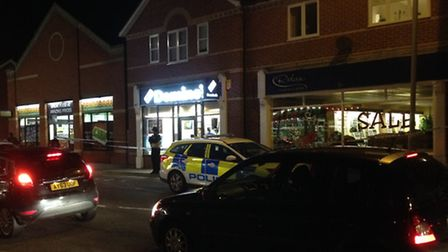 Police are currently investigating the stabbing of a man near or inside Domino's on Bramford Road, I