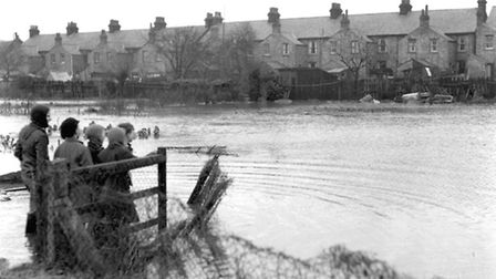 The East Coast floods of 1953 saw the areas of Ipswich close to the rivers Gipping and Orwell under