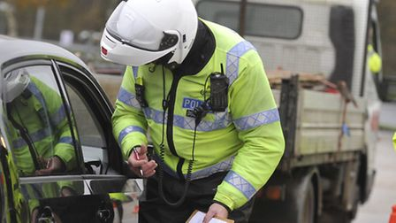 Suffolk, Essex and Norfolk police pulled drivers over during a joint traffic operation at Copdock to