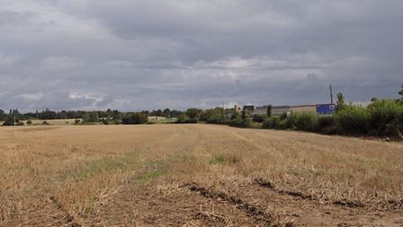 Proposed housing site in Poplar Lane, behind the Holiday Inn, Ipswich.