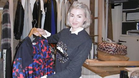 Arabella Brown owner of the marianna boutique in St Peter's Street, Ipswich