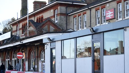 A temporary office has been placed at Ipswich railway station.