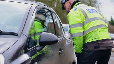 Police carrying out routine checks
