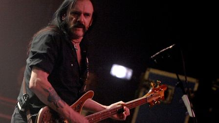 Lemmy at the Ipswich Regent in 2008