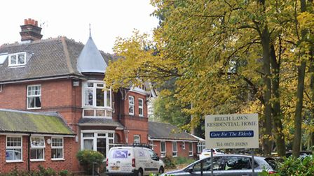 Beechlawn Residential Home in Ipswich.