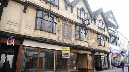 The former Croydon's building in Ipswich which could be occupied by Jack Wills.