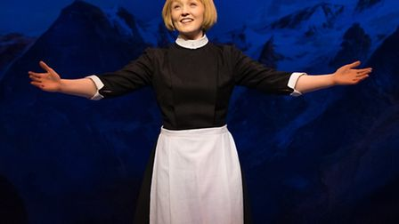 Lucy O'Byrne as Maria in The Sound of Music, at the Ipswich Regent until February 27. Photo: Mark Ye