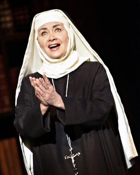 Jan Hartley as Mother Abbess in The Sound of Music, running at the Ipswich Regent February 23-27. Ph
