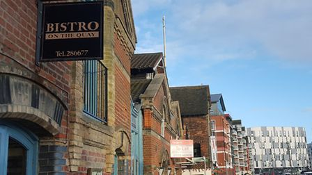Bistro on the Quay, Ipswich Waterfront.