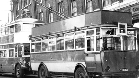 Rod Cross recalls that the bus service from Lloyds Avenue to the rail station was ten, but identifie