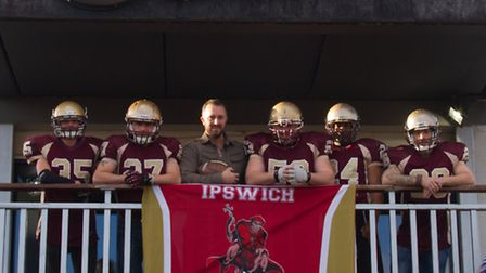 Ipswich Cardinals American Football Team has a new sponsorship deal with Bears Bar & Grill. Charles