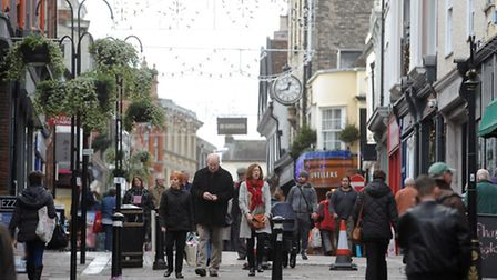 Bury is popular with shoppers - but is that because of the parking?