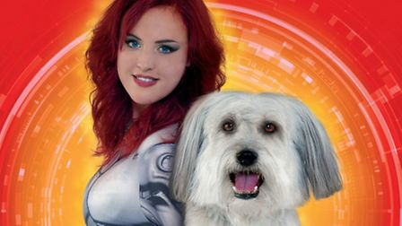 Ashleigh and Pudsey in Mission ImPudseyble