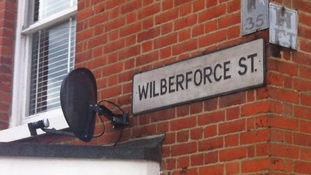 The attack happened at a property in Wilberforce Street.