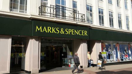 Marks and Spencer in Westgate Street, Ipswich