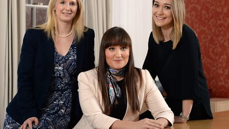 Sheilah Cummins, Sarah Furniss and Jade Boyle join the team at Prettys, Ipswich
